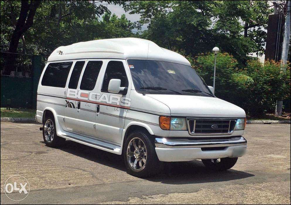 2004 Ford E250 Conversion Van Longwheel In Quezon City