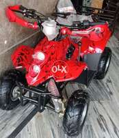 Red Bichho Printed ATV _ Quad Online Deliver in all Pakistan