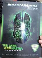 backlight gaming mouse brand new