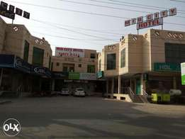 Beautiful investment in Commercial area.Plaza for good future