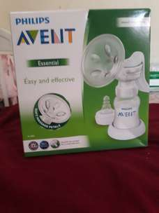 Breastpump philips avent manual second