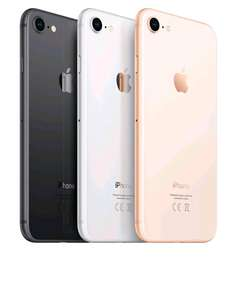 Apple Iphone 8 [256GB] Silver,Red (New)internasional