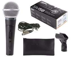 Shure SM.58 Dynamic Vocal Microphone Professional Edition Brand New.
