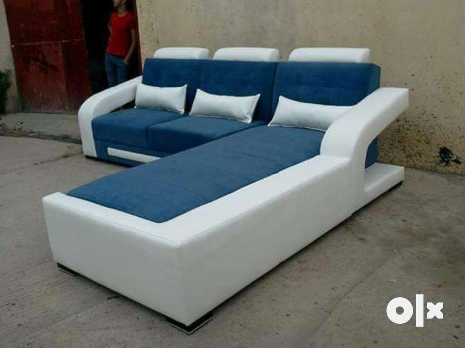 Lounger sofa white and blue sofa set - Surat - Furniture - Varacha on conventional sofa, low-back sofa, small blue sofa, fainting sofa, daybed sofa, bed sofa, modular lounge sofa, sectional sofa, sleep lounge sofa, benches high back sofa, sleeper sofa, floor lounger sofa, modern chaise sofa, curved sofa, ikea dark grey sofa, ottoman sofa, double chaise sofa, bedroom sofa, newton chaise sofa, furniture sofa,