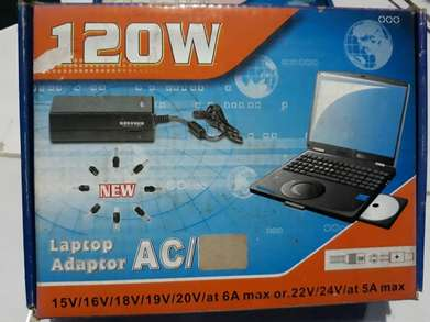 Adaptor Universal Laptop 120W AD DC USB Allin