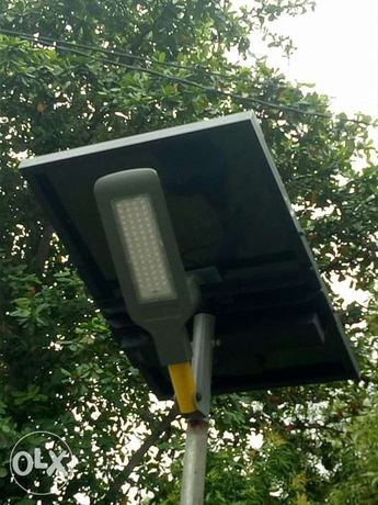 Solar 10w To 120w Integrated Street Light With Built In