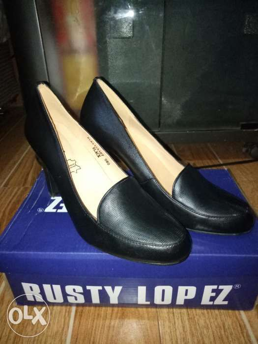 4de17cc91f0 Rusty Lopez Black Leather Shoes with Heels in Bacoor