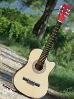 Wooden Acoustic Guitar 100% All Soung Codz Play with Warrenty ツ ツ