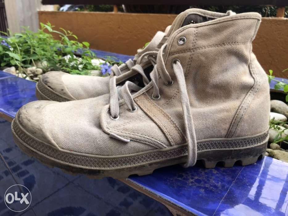 100% jakości znana marka Wielka wyprzedaż Boots Men's Palladium Pallabrouse Baggy US10 in Makati ...