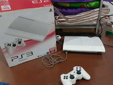 ps 3 slimm putih 500GB normal
