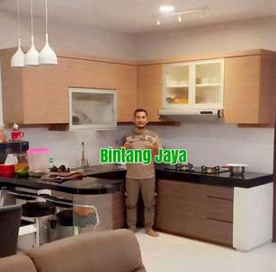 kitchen set minimalis elegan murah