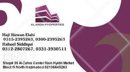 2nd floor flat for commercial Rent in Hyrdi Market North Nazimabad