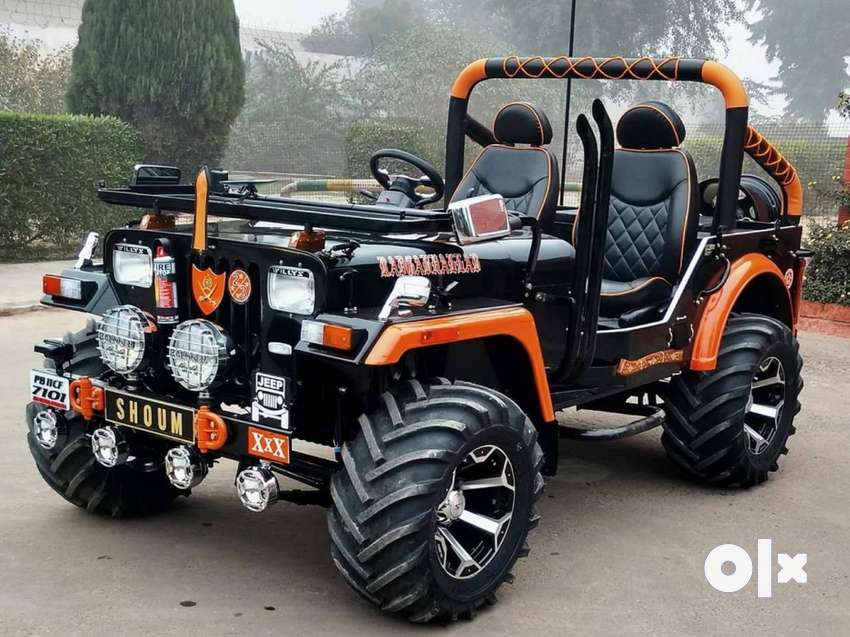 Fully Modified Open Mahindra Hunter Jeep By Commercial Vehicles