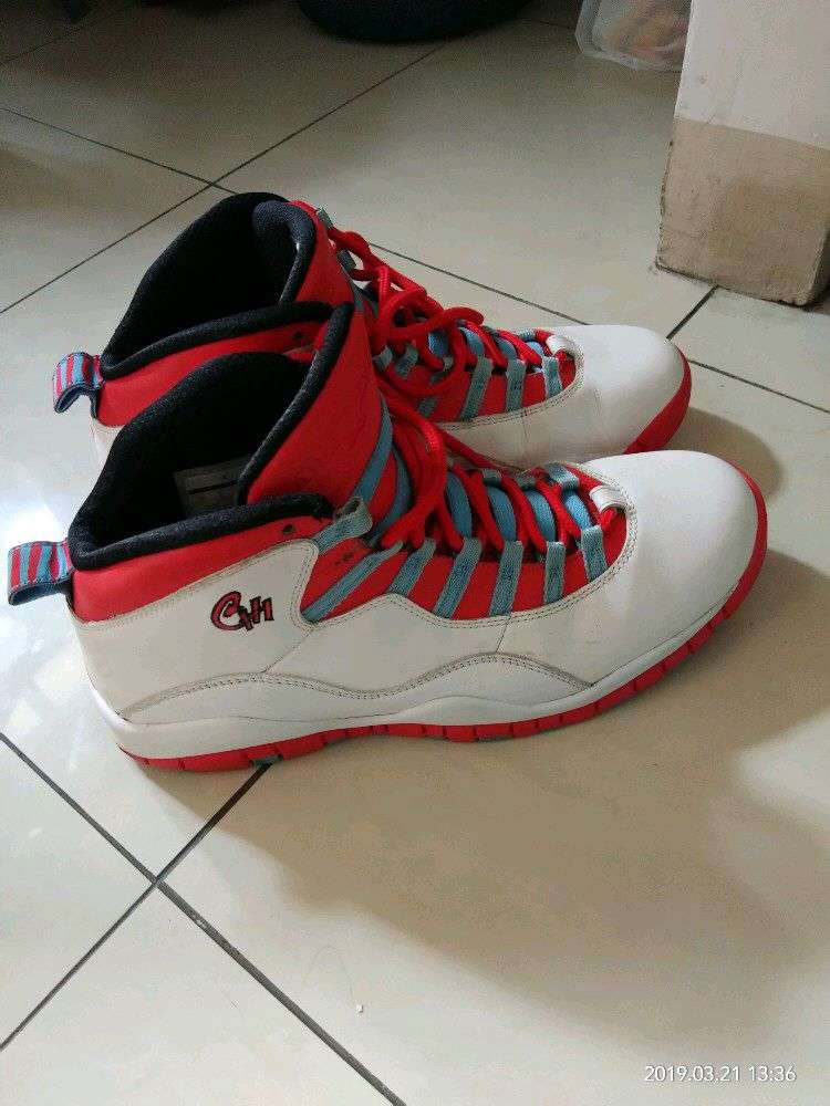 exclusive shoes limited guantity huge inventory Sepatu basket nike air jordan 10 retro chicago size 44 ...