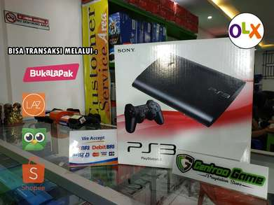 Playstation 3 SS/ PS3 Superslim 120GB Up 500GB Fullgame, ANTI YLOD