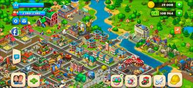 dijual akun town ship level 31