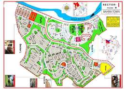 10 marla main boulevard plot for-sale in bahria town phase 8 sector i