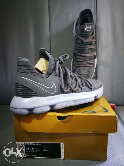 the best attitude 41d81 c1f71 Nike Zoom KD 10 Dark Grey Reflect Silver size 10.5 US in ...