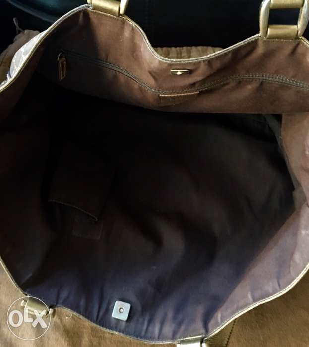bf4cc22ef6 authentic GUCCI ABBEY GG nylon tote bag LV burberry hermes prada in ...