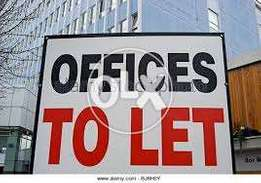 680 sq ft office with two room partition gulberg