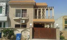 10marla singal storey barnd new house+besment4rent in bahria town rwp