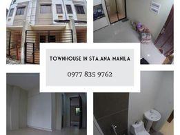 1 Unit Available Townhouse In Sta Ana Manila Near Pedro Gil