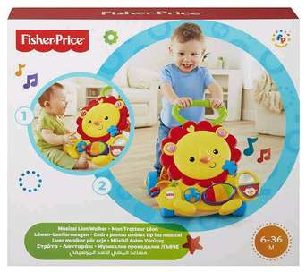 Fisher Price baby walker with box