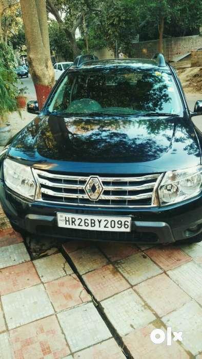 black renault duster rxl 104 petrol 60000 kms 2013 year model gurgaon cars sector 26. Black Bedroom Furniture Sets. Home Design Ideas