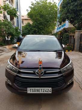 Used Toyota Innova Crysta For Sale In Hyderabad Second Hand Toyota Innova Crysta In Hyderabad Olx