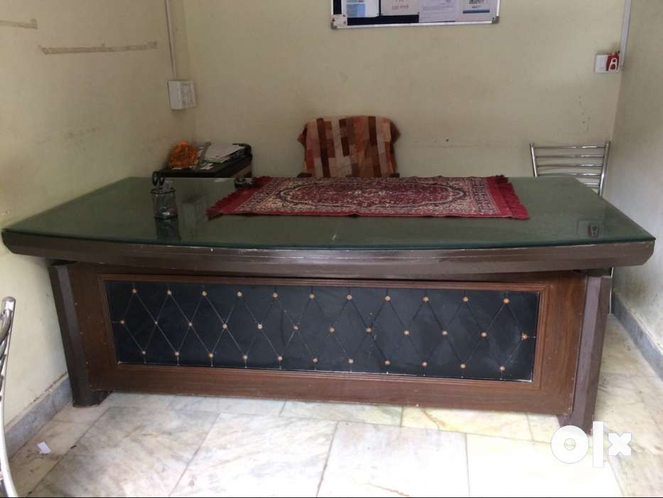 Big Office Table For Sale Foot Delhi Furniture Brahmpuri - 7 foot office table