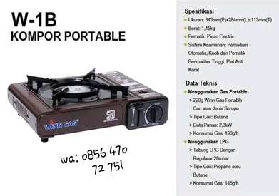 Kompor Gas Portable Winn Gas W-1B SNI