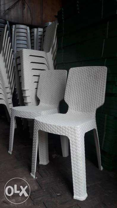 Plastic Rattan Chair And Table In Quezon City Metro Manila Ncr