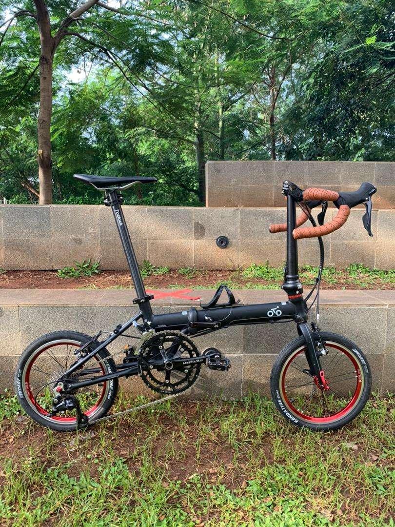 Sepeda Lipat Roadbike Merk Otd Frame Langka Sepeda Aksesoris 805598448