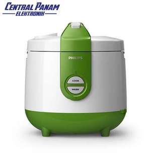 Philips Rice Cooker 2 L(HD3119)-Central PASIR PUTIH