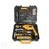 Professional Tool Set - 101Pcs - Black & Yellow