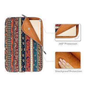 tas laptop bohemian style softcase 14inch. REAL PICT!