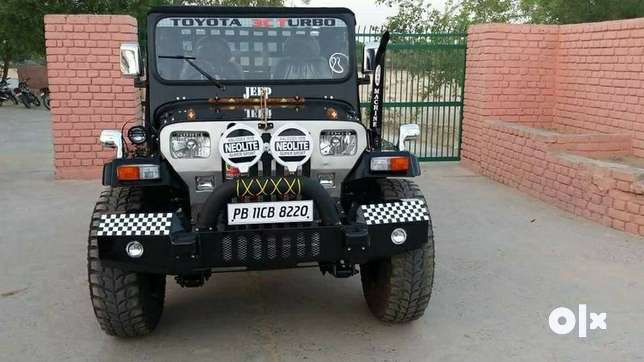 ModifieD Open style jeep Hunter look with fully