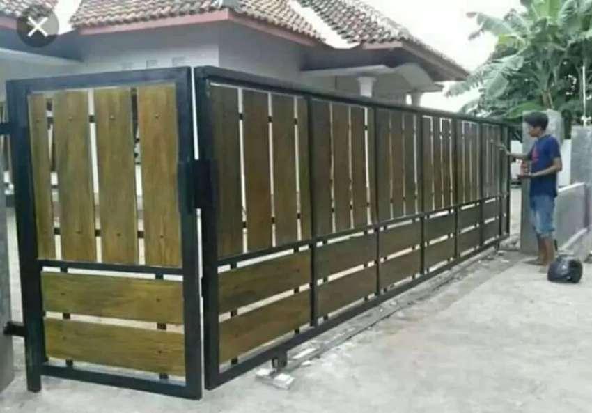 Pagar Papan GRC Minimalis - Konstruksi Dan Taman - 760465764