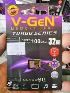 V-GEN memory card hp 32GB Class 10 TURBO SERIES