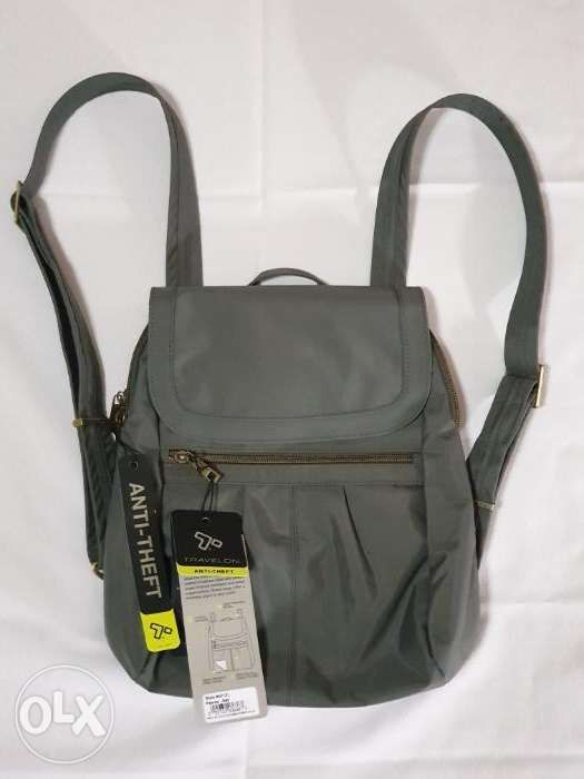 0dede40f7cb Travelon AntiTheft Signature Slim Backpack Green in Quezon City ...