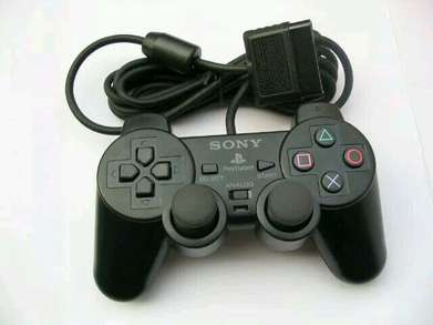 Gamepad Stik Playstation PS2 Single Black