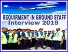 Required Male and female for ground staff job