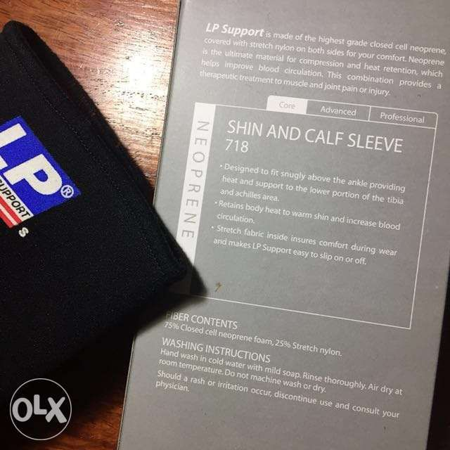 115dad45b5ba11 LP Support shin and calf sleeve (bnew) in Quezon City, Metro Manila ...