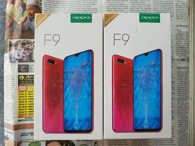 """Biss """"Soko Mas Cell"""" Ready New Oppo F9 4/64 GB Blue Purple"""