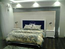 Deco style parpal padding new complete bed set...
