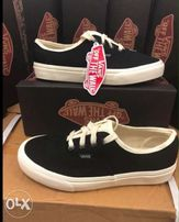 b79e69304256 Vans black - New and used Shoes and Footwear for sale in the ...