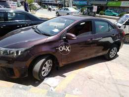 Corolla Gli New shape with driver
