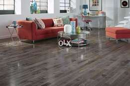 U Grove High Gloss Laminated wooden floor.