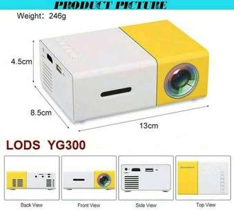 Mini Led projector proyektor YG300
