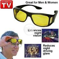 Pack of 2 Day and Night Vision HD Glasses